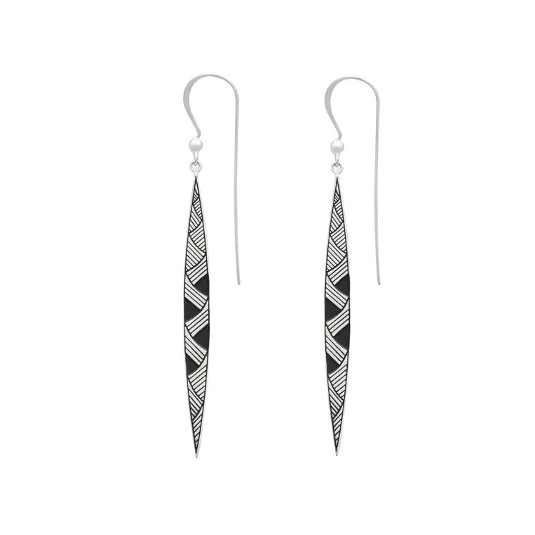 HONO TE KUPU (BRINGING TOGETHER THE WORDS) EARRINGS
