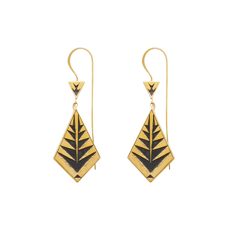 IKA (FISHBONE PROTECTION) EARRINGS