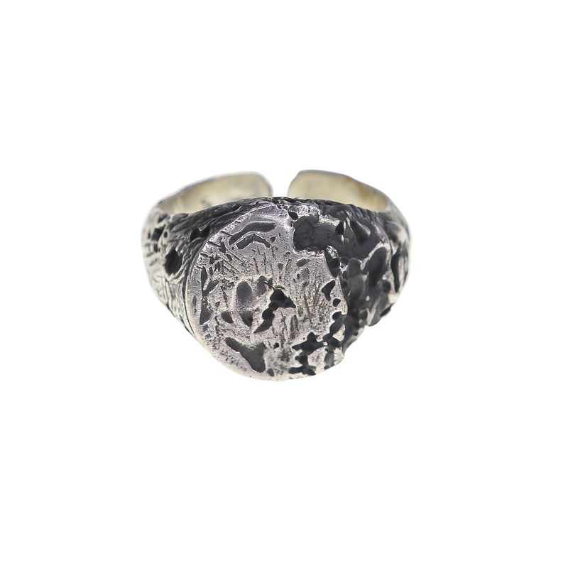 Eroded Signet ring