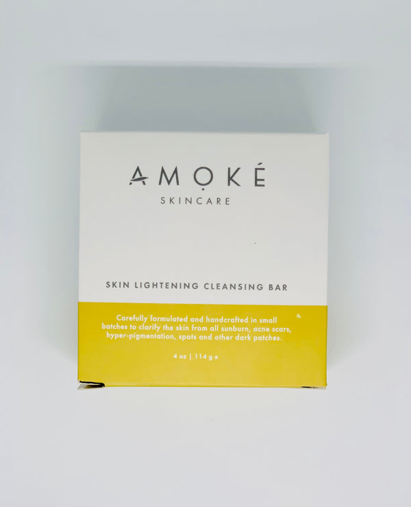 Amoke Skincare Skin Lightening Cleansing Bar 114g