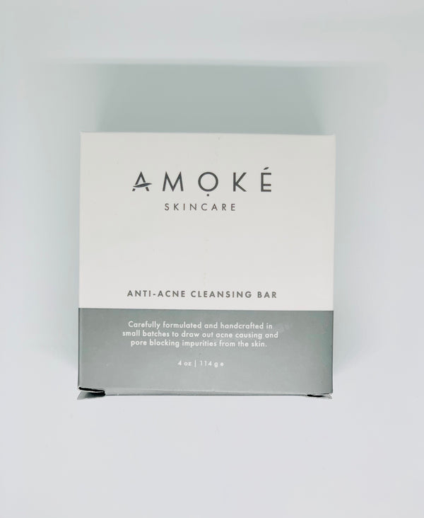 Amoke Skincare Anti-Acne Cleansing Bar 114g