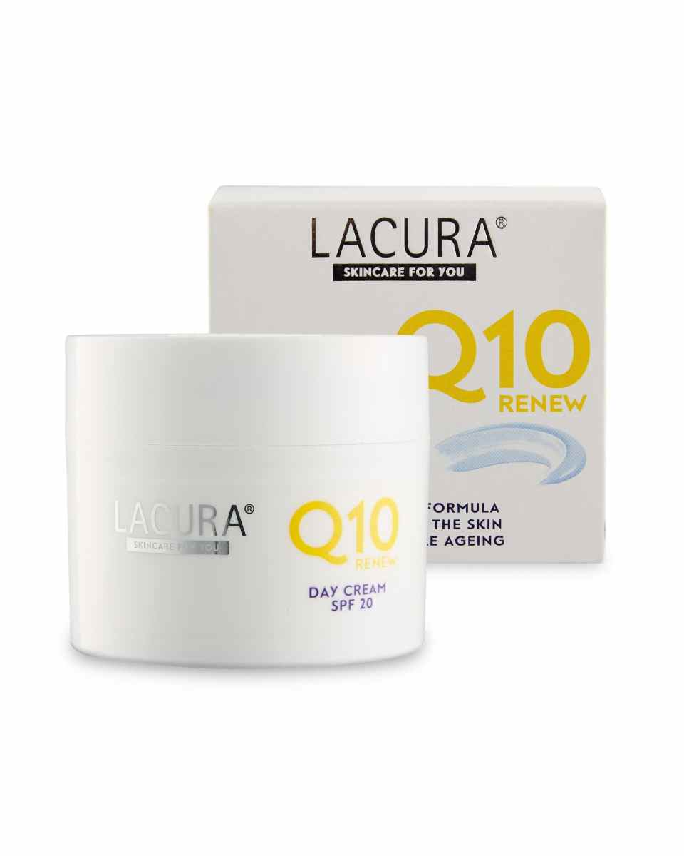 Lacura Q10 Renew Day Cream with SPF20 50ml