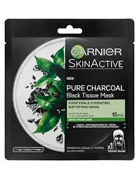 Garnier SkinActive Pure Charcoal Black Tissue Mask