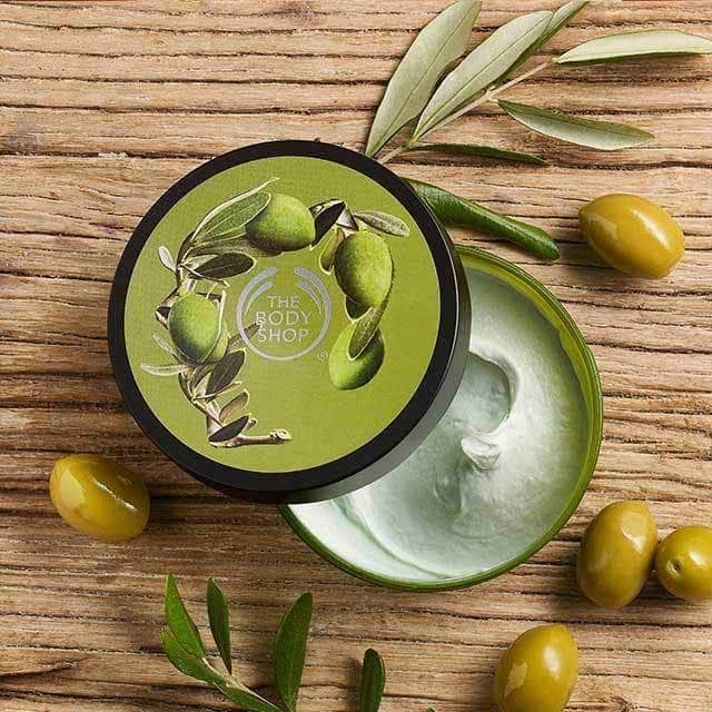 The Body Shop Olive Nourishing Body Butter