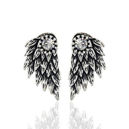 Vintage Gothic Angel Earrings