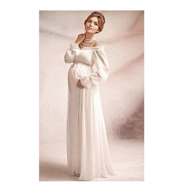 3dd652b7108 Elegant lace dress Maternity photography props Long dress maternity clothes  Pregnancy Fantasy Photo Shoot props hamile