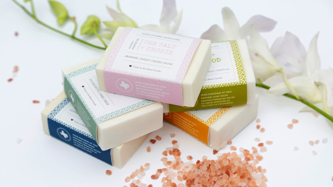 new coconut oil soap collection