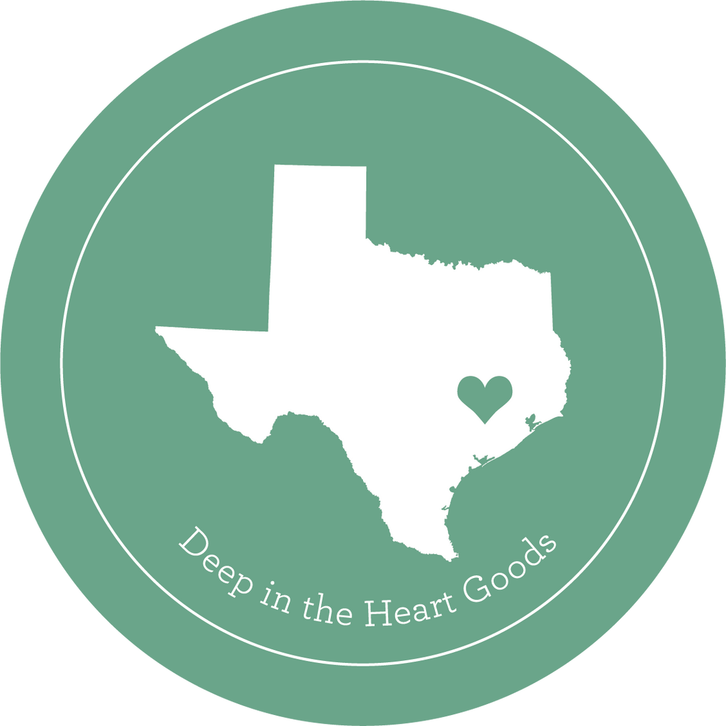 Deep In The Heart Goods Sticker - Choose Your Donation