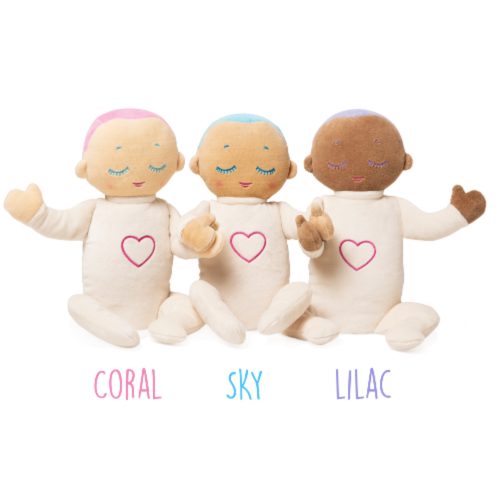 NEW GENERATION Lulla doll sleep companion - 8 hours breathing and heartbeat