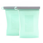 Junobie Reusable Silicon Breastmilk Storage Bags - 2PK