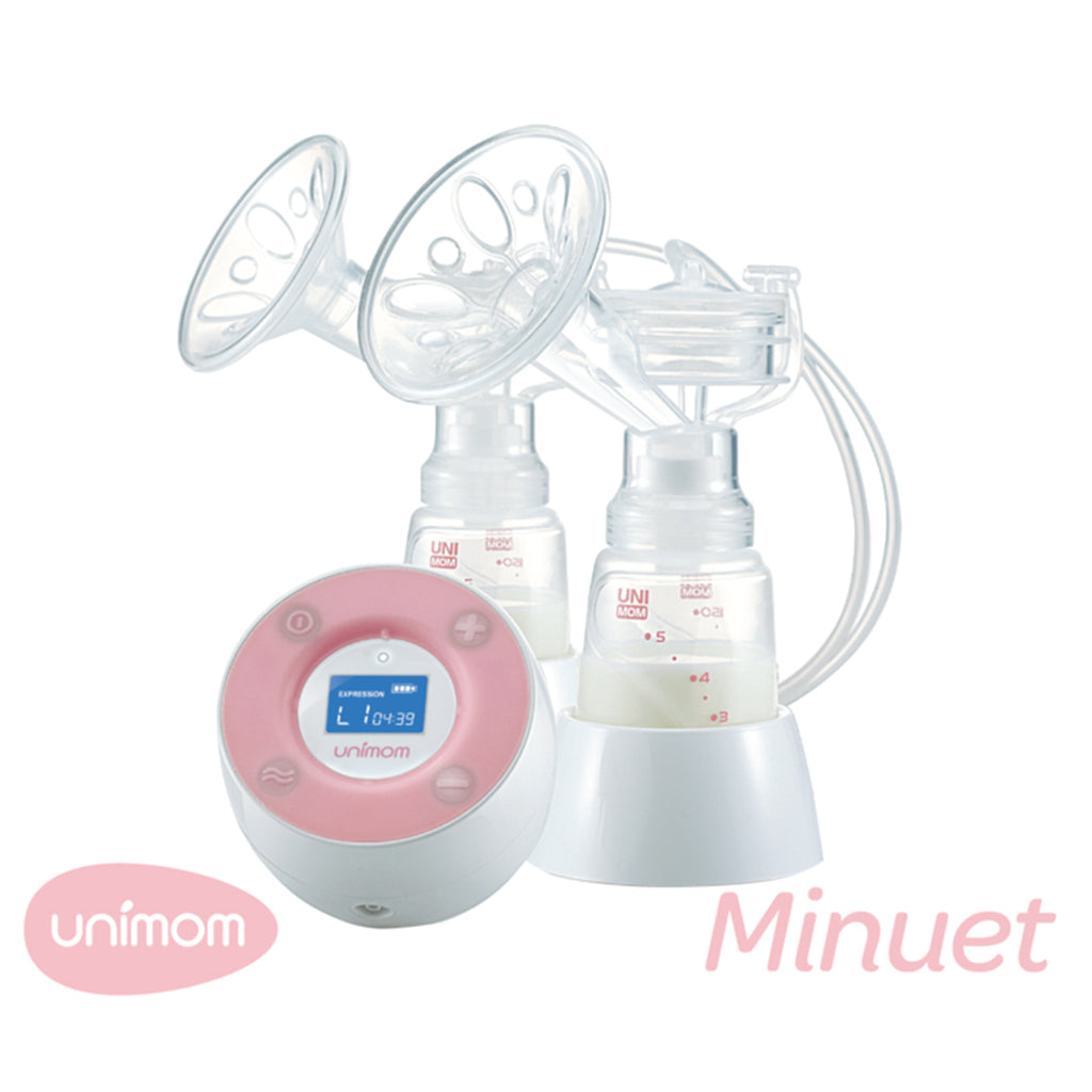 Unimom Minuet Double Breast Pump | More Than Milk New Zealand