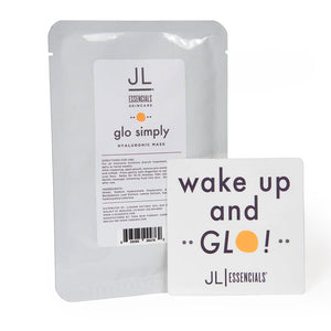 glo simply mask hyaluronic beauty