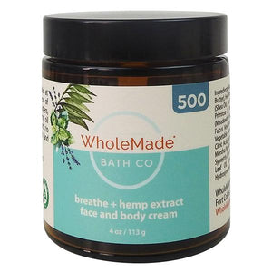 WholeMade Breathe Hand and Body cream - PhytoRite.com