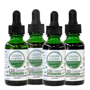 Full spectrum organic Hemp CBD tincture Natural flavor