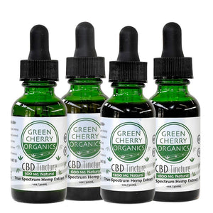 Hemp Extract 1200 - Complete Spectrum Oil - USDA Organic Hemp