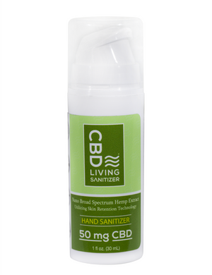 Hand Sanitizer with CBD