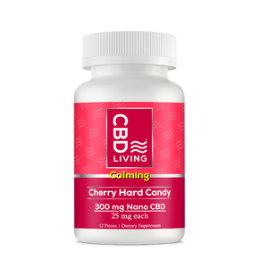 CBD Living Hard Candy Cherry 300 - PhytoRite