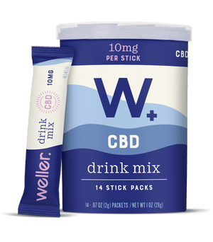 Weller CBD drink mix cannister 10mg - Phytorite