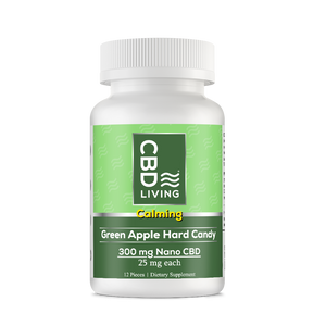 CBD Living Hard Candy Green Apple 300 - PhytoRite