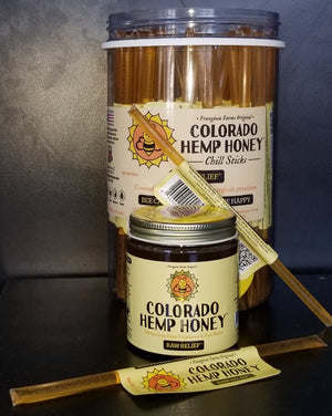 Colorado Hemp Honey Sticks - Phytorite