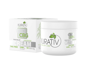 CBD / CBG Relief Cream - THC-Free - High Potency - Phytorite