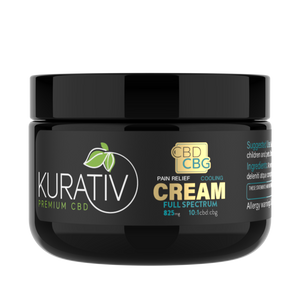 CBD / CBG Relief Cream - Full Spectrum - High Potency - Phytorite