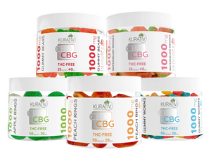 CBD : CBG 1000mg Gummies - Monthly Membership - Phytorite
