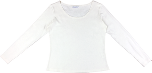 Long Sleeve Scoop Front Top - Phytorite