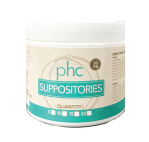 PHC Suppositories (5 pack)