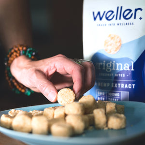weller coconut bites 5mg CBD 20 count