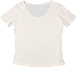 women's hemp blouse cotton blend