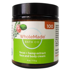 WholeMade Focus Hand and Body cream - PhytoRite.com