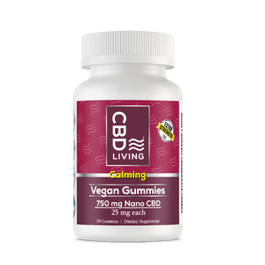 CBD Living Vegan gummies 750 Calming - PhytoRite