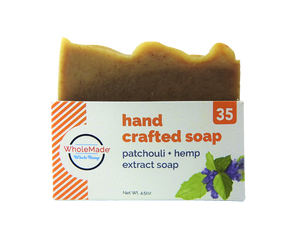WHM Patchouli Hemp Soap