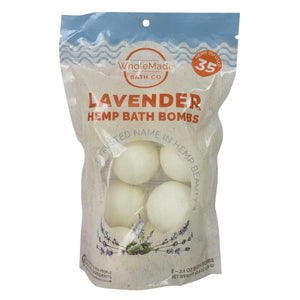 WholeMade 8 Pack Bath Bombs lavender - PhytoRite.com