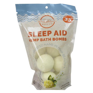 WholeMade 8 Pack Bath Bombs sleep aid - PhytoRite.com