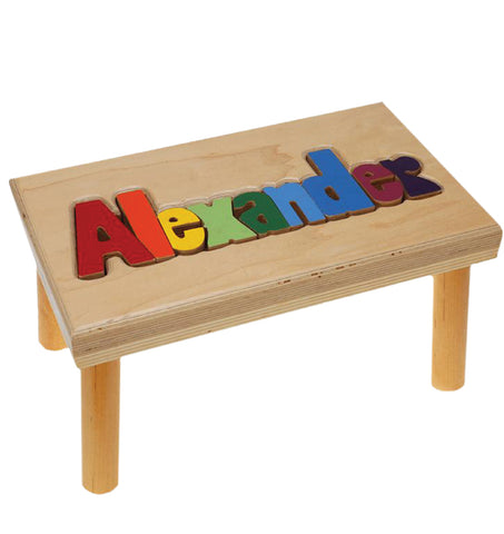 Name Stool Puzzle - Large