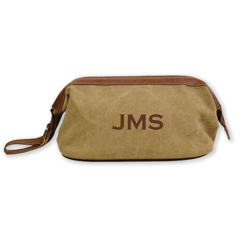 Canvas Shaving Bag