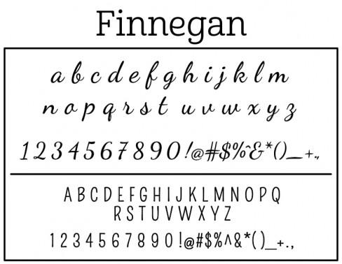 Self Inking Stamp-Finnegan Stamp