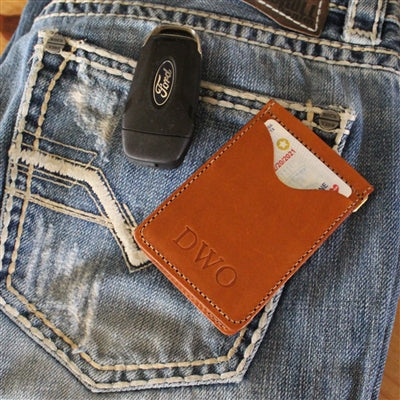 Jon Hart Leather McClip