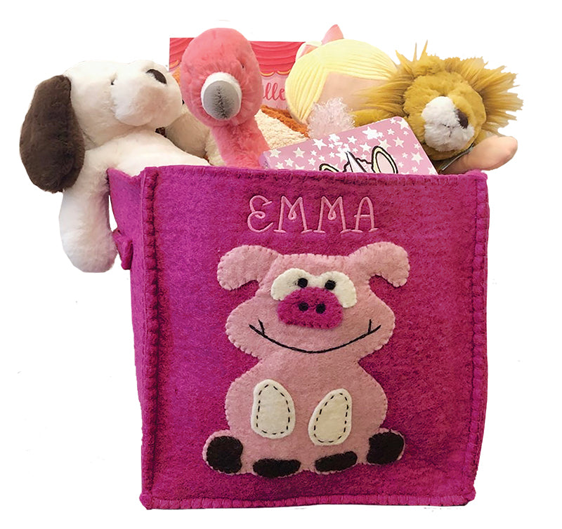 Toy Felt Storage Basket