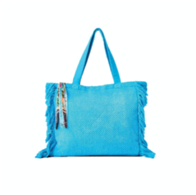 Two's Company Terry Cloth Tote