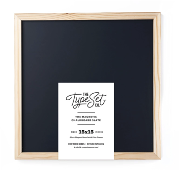 Type Set Co. Magnetic Letter Board Slate