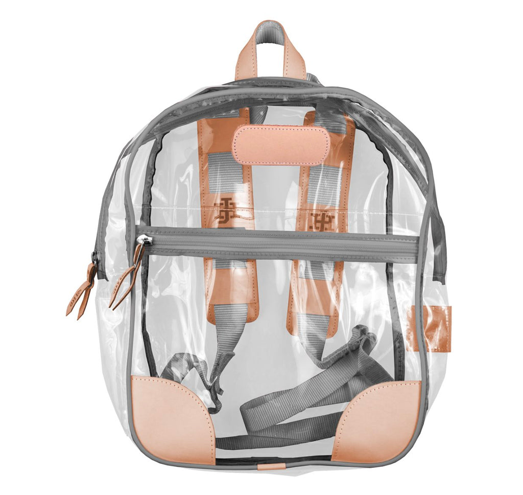 Jon Hart Clear Backpack - Limited Colors Available