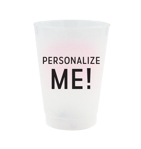 Personalized Frost Flex Cups - Custom Artwork