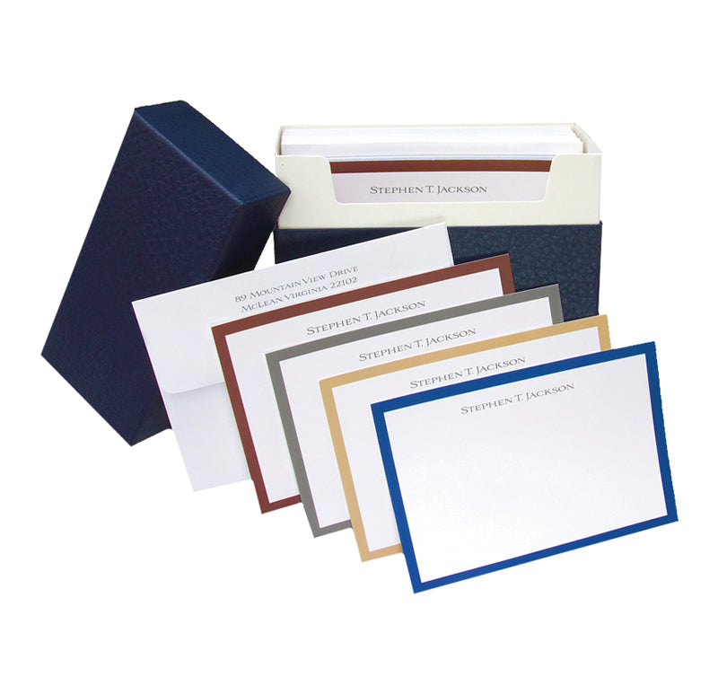 Boxed Note Set - Blue Box