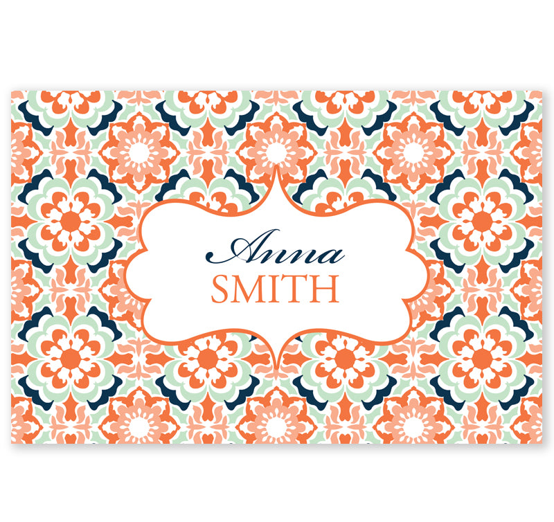 Personalized Note Cards - Set of 10 - Morocco