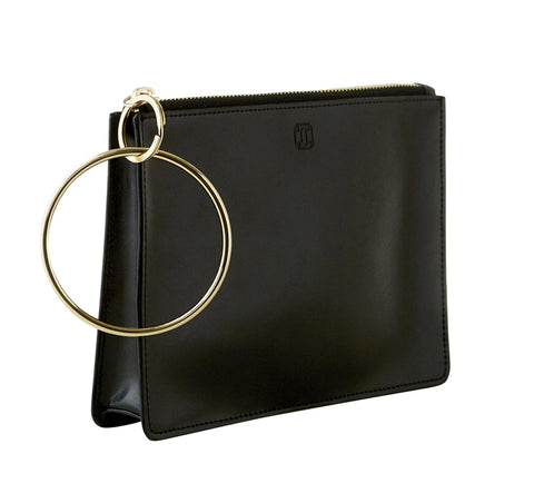 The Big O Bracelet Bag - Black