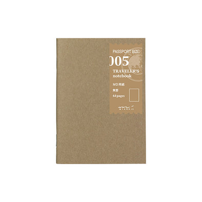 Traveler's Notebook Passport Size 005 Lined - Mimoto Japanese Homewares & Design