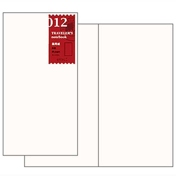 Traveler's Notebook 012 Large Sketch Paper - Mimoto Japanese Homewares & Design
